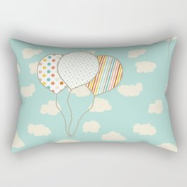 Balloons that Fly Rectangular Pillow