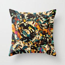 Pattern № 100 Throw Pillow