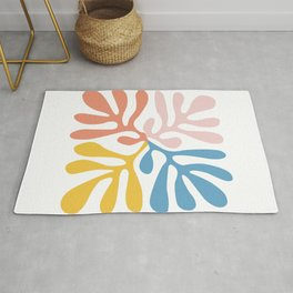 Matisse cutout -Abstract Modern Print, Rug
