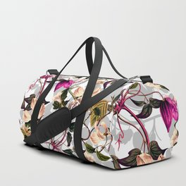 Romantic flower garden Duffle Bag