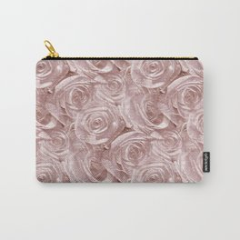 Decoration pattern of pink Roses Carry-All Pouch