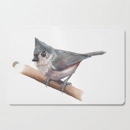 Tufted Titmouse Cutting Board