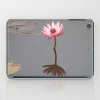 buddhism iPad Cases featuring One Lotos by Maria Heyens