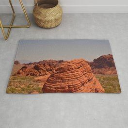 Red Valley Rug