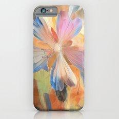 Abstract Wild Geraiums iPhone 6s Slim Case
