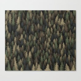 Forest camouflage Canvas Print