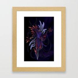 Sha Corrupt Jhin Framed Art Print