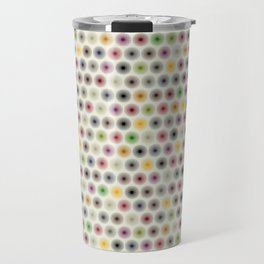 flower polka dot Travel Mug