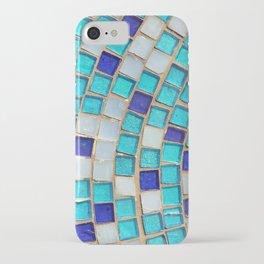 Blue Tiles - an abstract photograph. iPhone Case