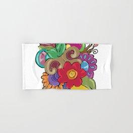 Flores 3 Hand & Bath Towel