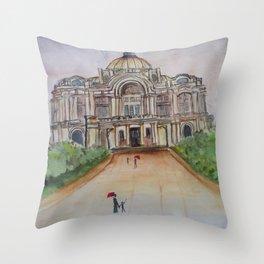Bellas Artes Throw Pillow