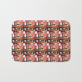 Sound Quilt Block Bath Mat
