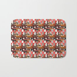 Sound Quilt Block Bath Mat