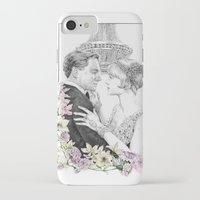 great gatsby iPhone & iPod Cases featuring The Great Gatsby by stardustsoul