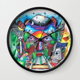 From F to K Wall Clock