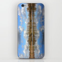 Beautiful Day At The Lake iPhone Skin