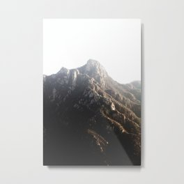 Mutianyu, China Metal Print