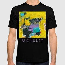 Whisper Yellow Abstract T-shirt
