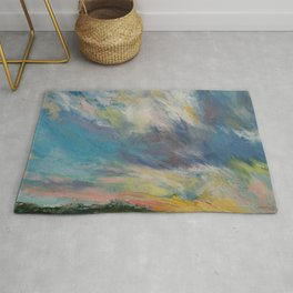 Clouds at Sunset Rug
