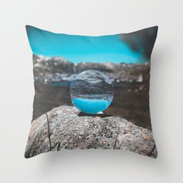 Experience The World Throw Pillow