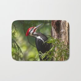 Pileated Woodpecker 6340 Bath Mat