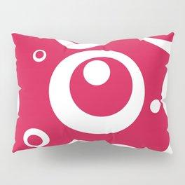 Circles Dots Bubbles :: Geranium Pillow Sham