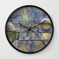 chess Wall Clocks featuring Chess by eMBie