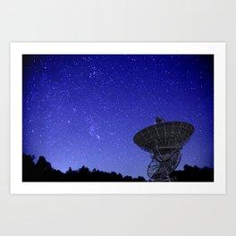 Watching the Sky Art Print