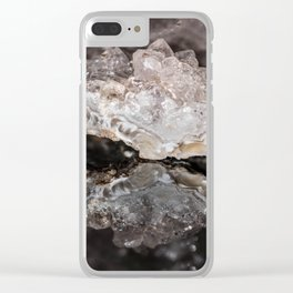"""""""Reflections"""" - Geo Rock Clear iPhone Case"""