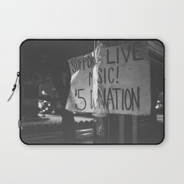 support live music Laptop Sleeve