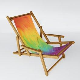 Tie Dye Sling Chair