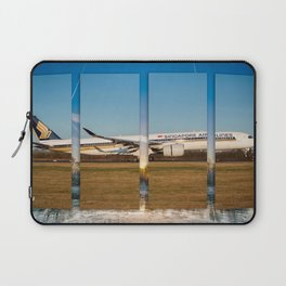 Airbus A350 Landing Manchester Laptop Sleeve