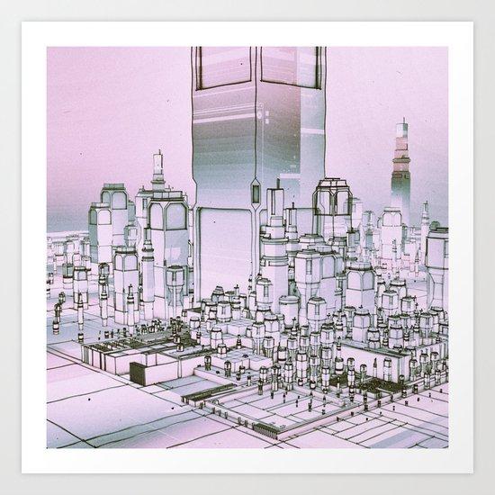 ELEVATION B.1 (everyday 11.13.16) Art Print