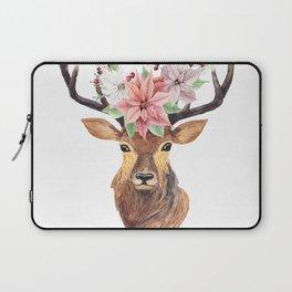 Winter Deer 3 Laptop Sleeve