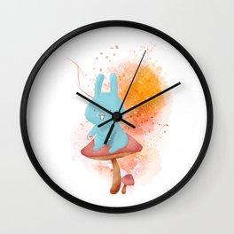 Kit Tea Rabbit Wall Clock