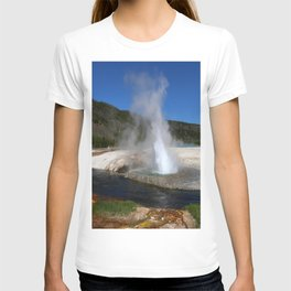 Thermal And Geyser Field Yellowstone NP T-shirt