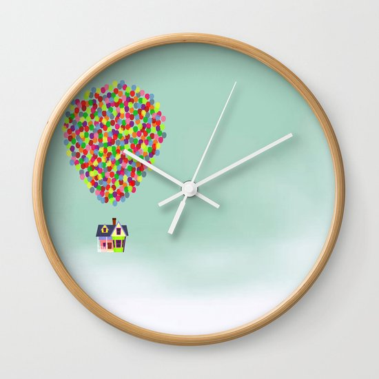 Up Wall Clock