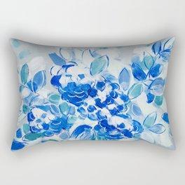 Wedding Bell Blues Rectangular Pillow