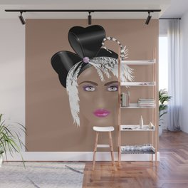 Fascinators: Cloche Wall Mural