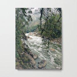 Urubamba/Vilcanota River Metal Print