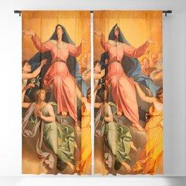 Assumption in church Chiesa di Santa Maria Assunta by Giuseppe Craffonara  Blackout Curtain