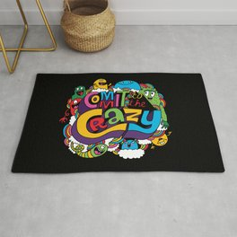 Commit to the Crazy Rug