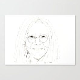 Whoopi Canvas Print