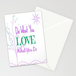 Sun Love - White Stationery Cards
