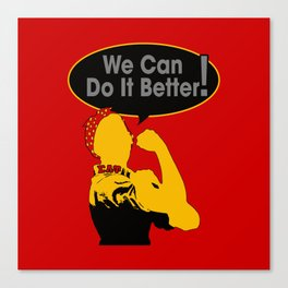 Sigma Lambda Upsilon (We Can Do It Better) Canvas Print