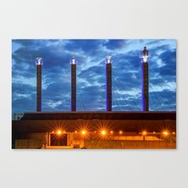 Sky Stations of Kansas City at Dawn Canvas Print