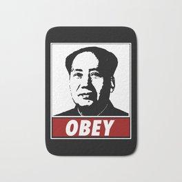 Mao Zedong Obey Bath Mat