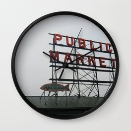 Public Market Wall Clock