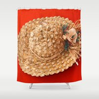 hat Shower Curtains featuring Hat  by Gaspar Avila