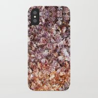 geode iPhone & iPod Cases featuring Amethyst Geode Up Close by 319media